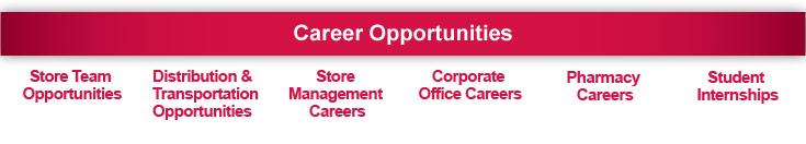Career Page Menu