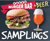 Burger & Beer Sampling Event