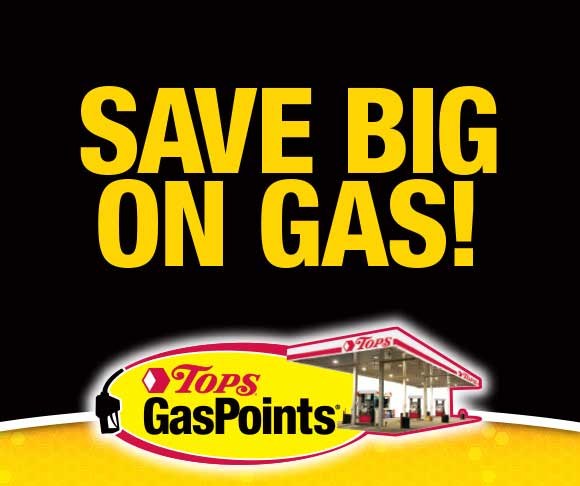 Save With TOPS GasPoints