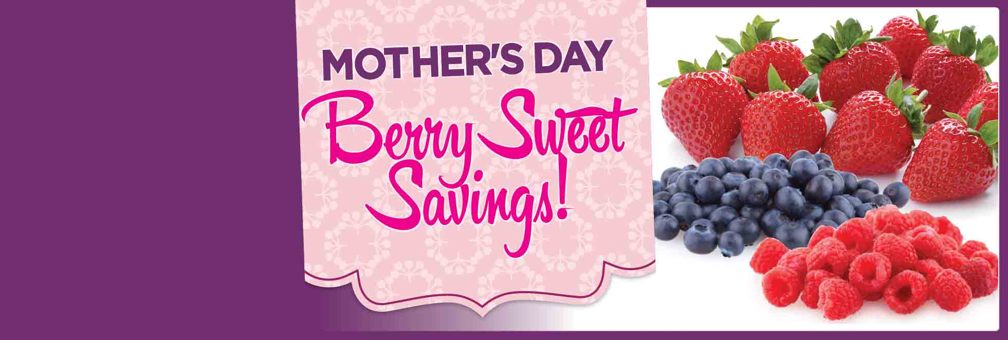 Sweet Berry Savings