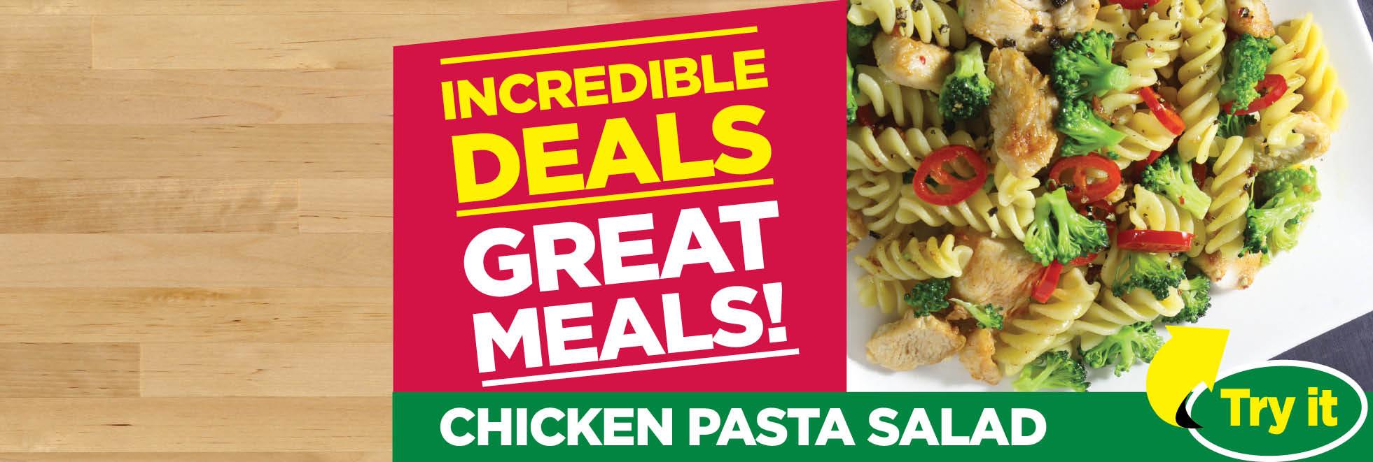 Incredible Deals Great Meals