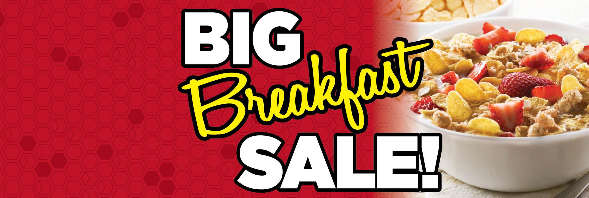 Breakfast Sale