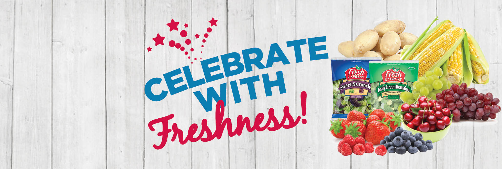 Celebrate With Freshness