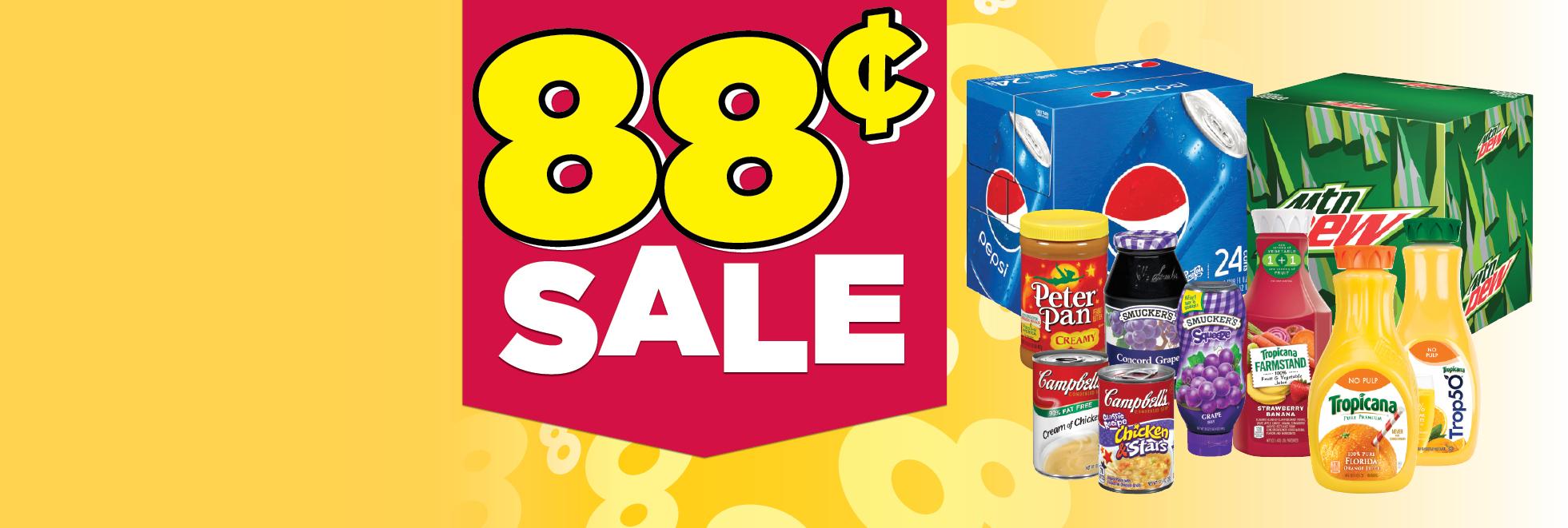 88¢ Sale