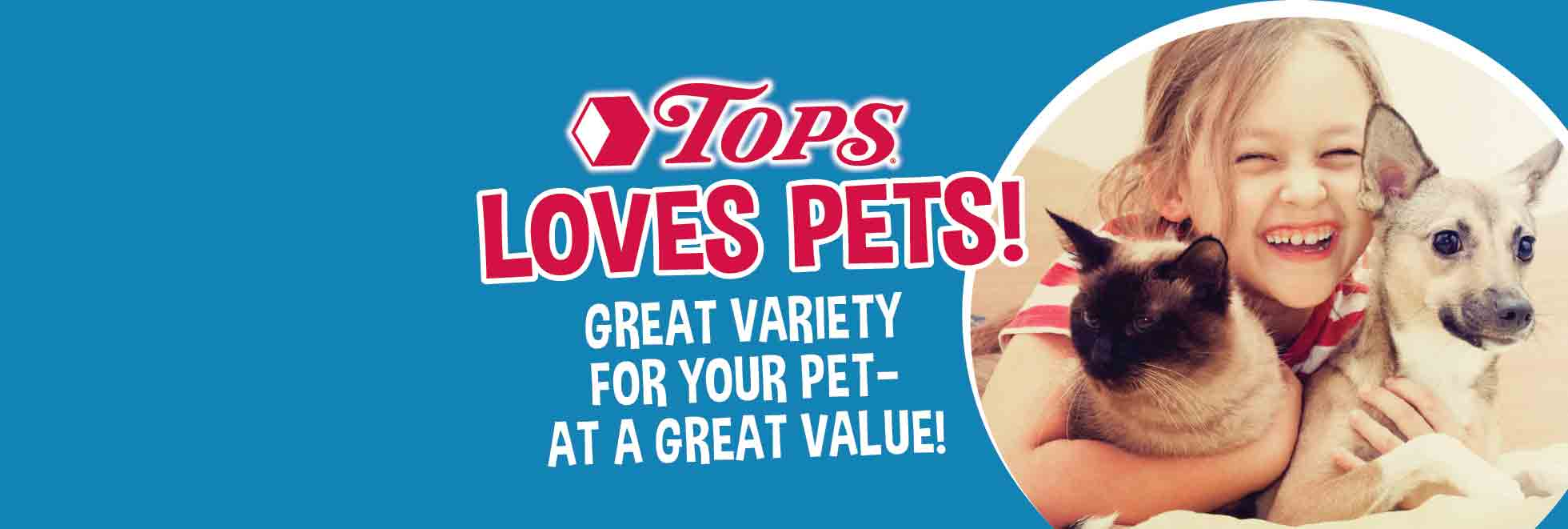 TOPS Loves Pets
