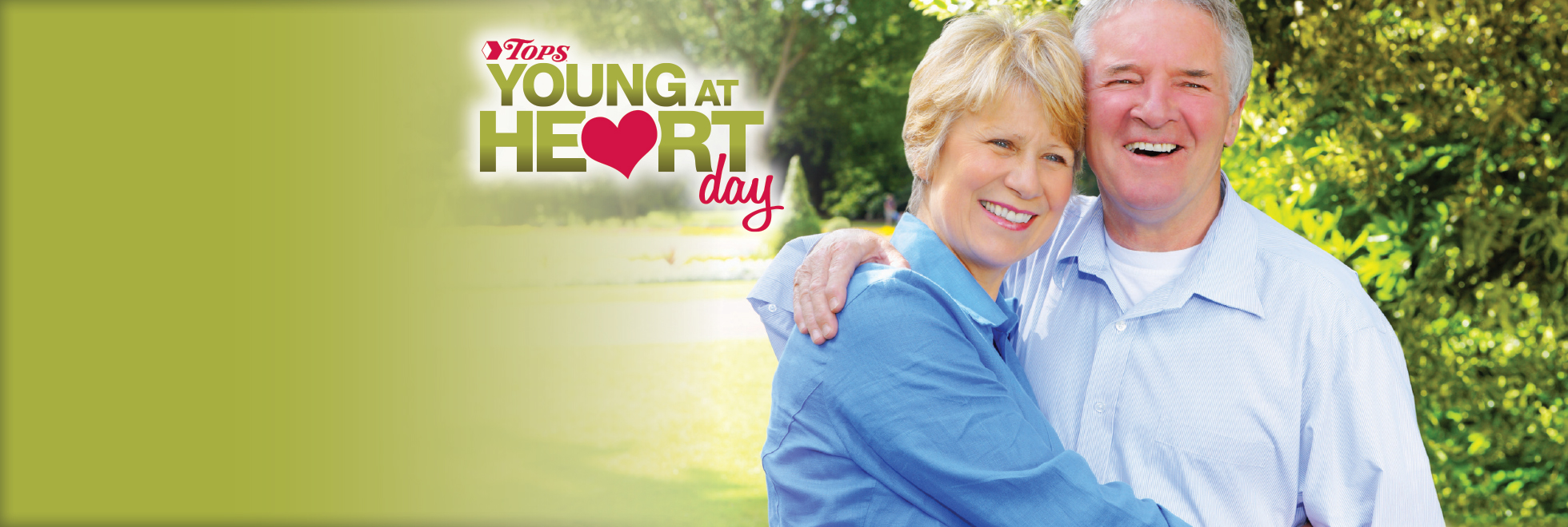 Tuesday, May 3rd is Young at Heart Day at TOPS