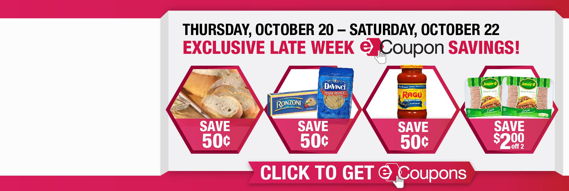 Exclusive Late Week Savings