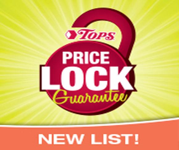 New Price Lock List good now thru May 7