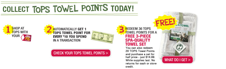 Collect Tops Towel Points