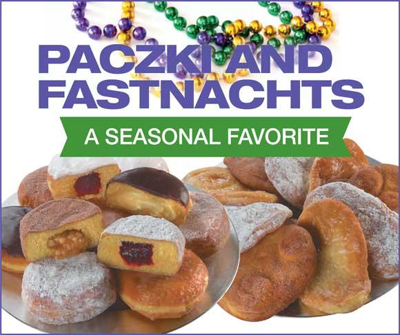 Paczki and Fastnachts