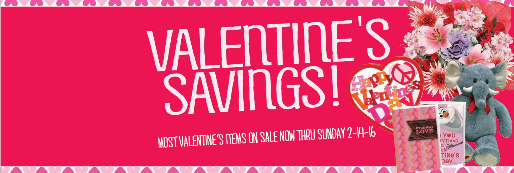 Valentine's Day Savings