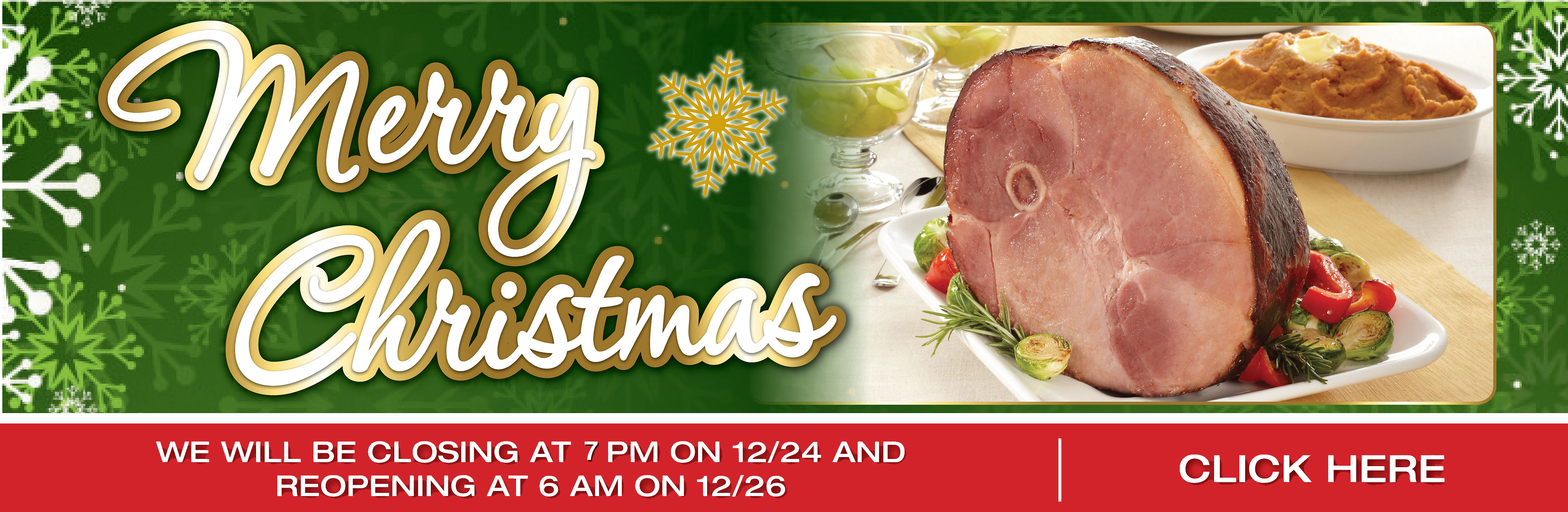 Merry Christmas To Your Family From TOPS