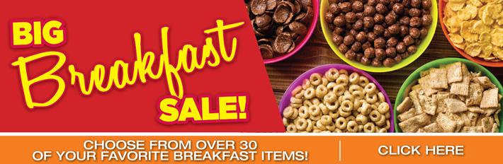 Big Breakfast Sale