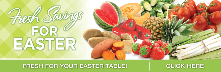 Fresh Savings For Easter