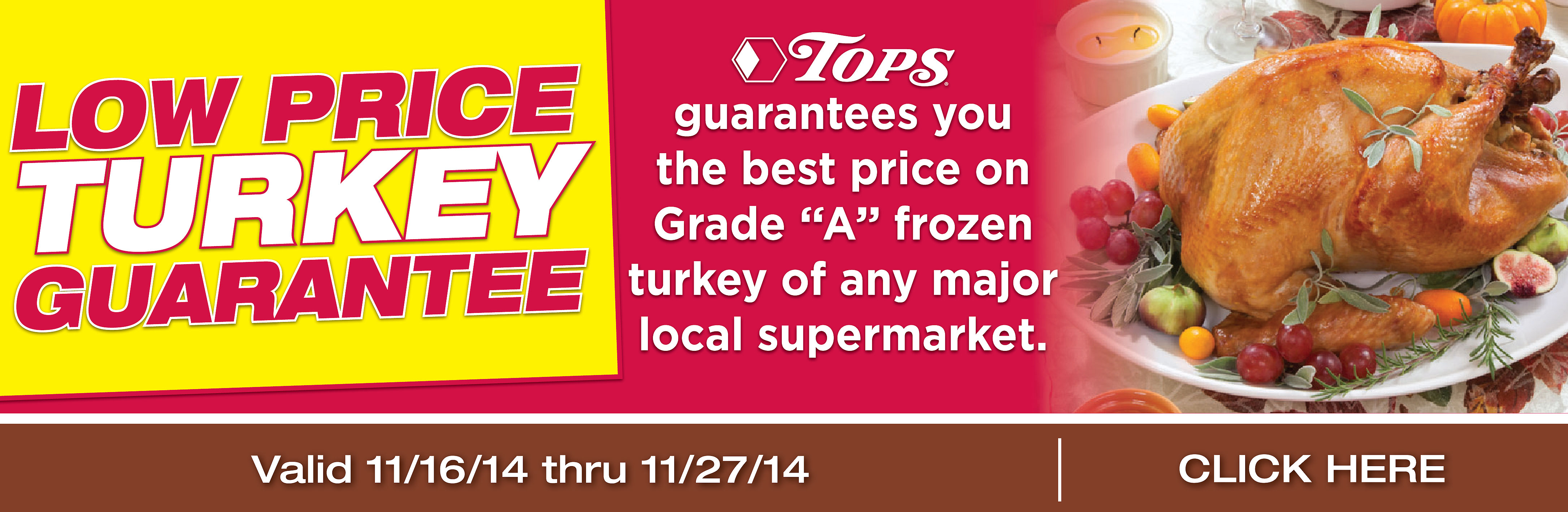 Low Turkey Price Guarantee
