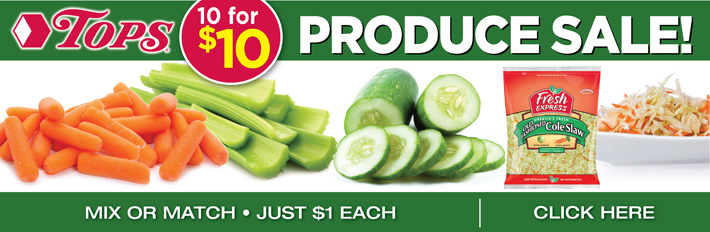 10 For $10 Produce Sale