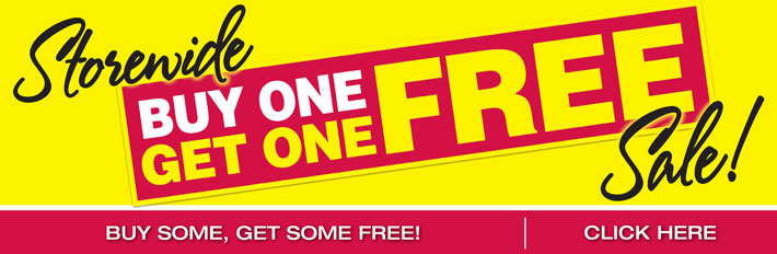 Storewide Buy One Get One Free Sale