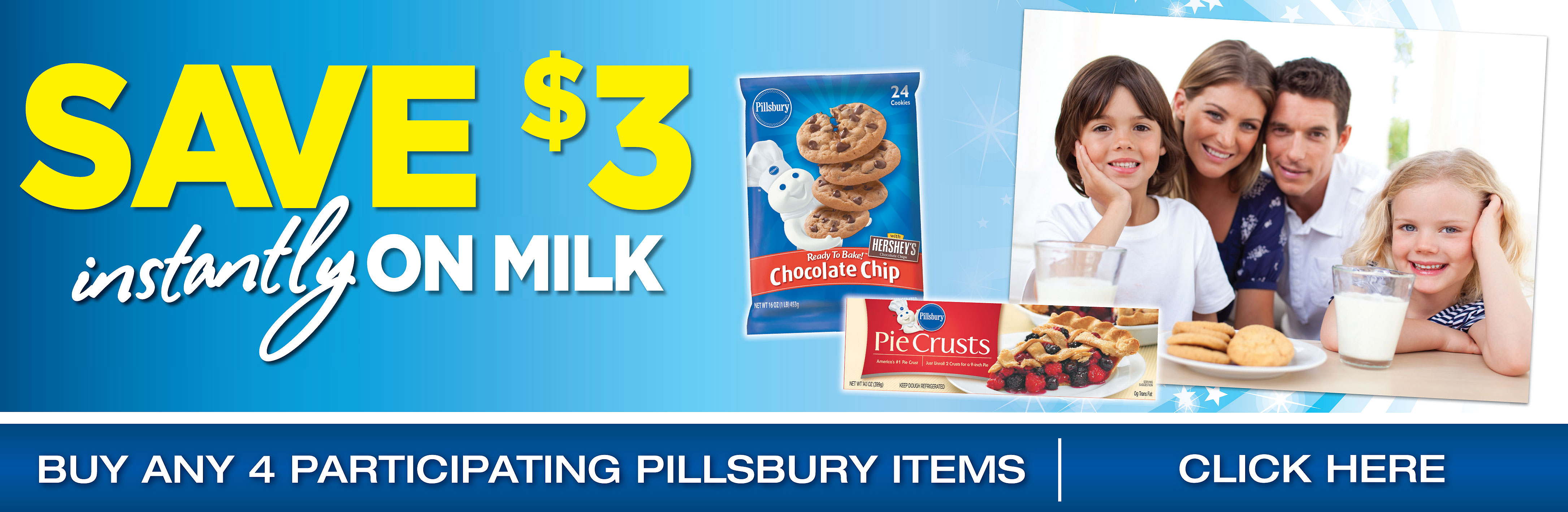 Save $3 On Milk Instantly