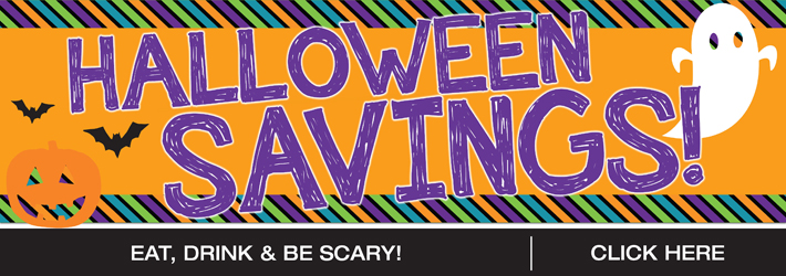 Happy Halloween Savings