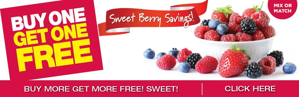 Sweet Berry Savings