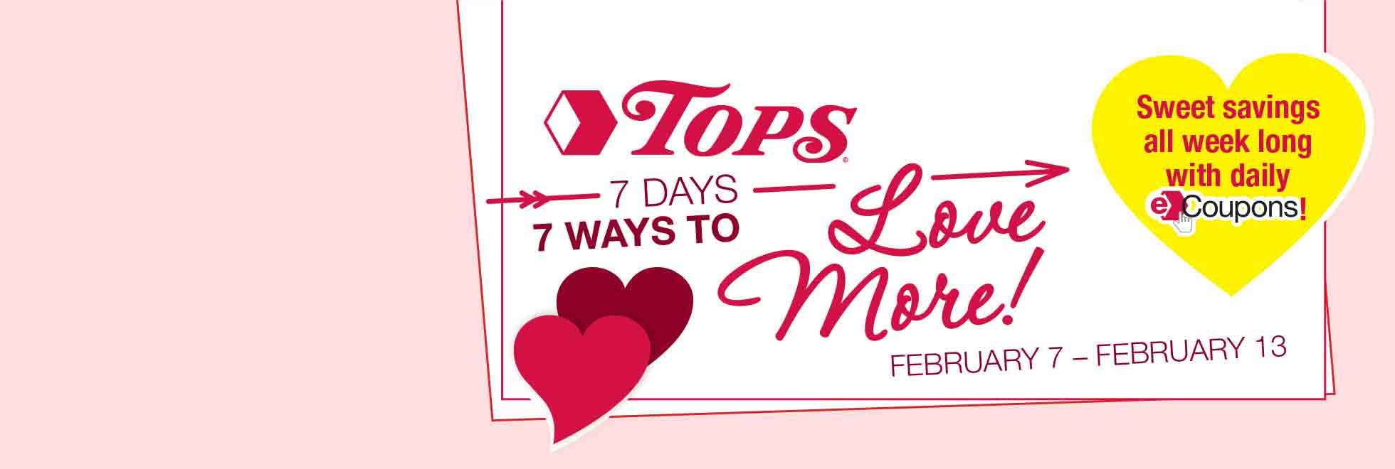 7 Days 7 Ways to Love with daily eCoupons