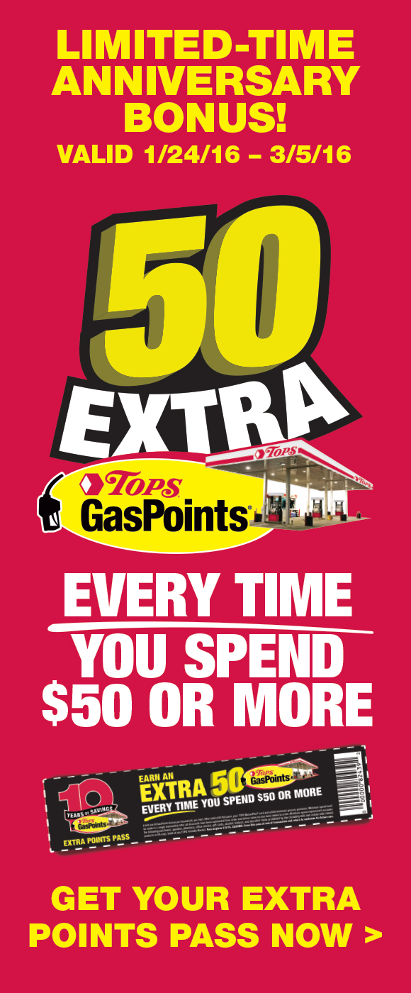 10 Year GasPoints Anniversary Limited Time Offer