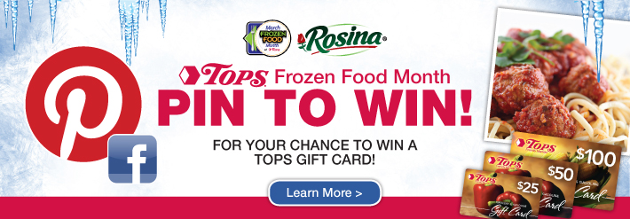 Frozen Food Month Pin To Win