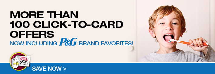 P&G Click-To-Card Coupons