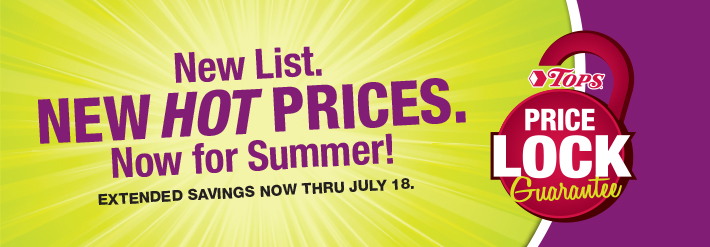New List. New HOT Prices, Now For Summer