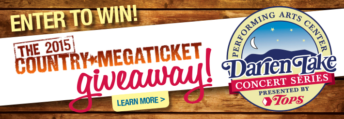 Enter to Win the 2015 Country Mega Ticket