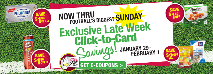 Exclusive Late Week Click-To-Card Savings