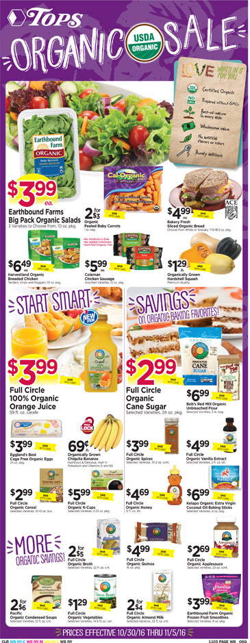 tops market sales flyer